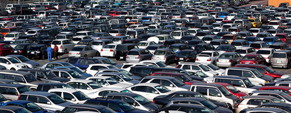 Sea of Cars Smaller